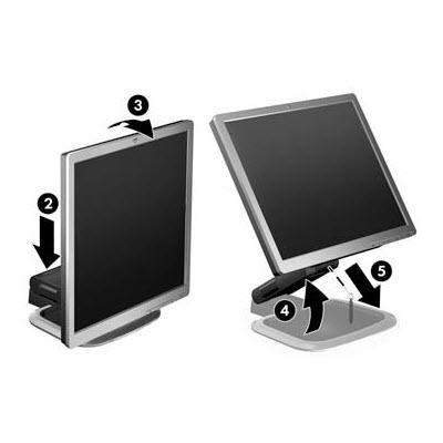 HP Compaq LA1951G 19 inch LCD monitor 3