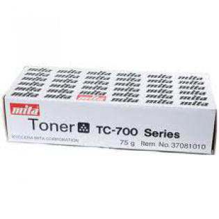 Kyocera Mita 37081010 TC-700 toner zwart (origineel)