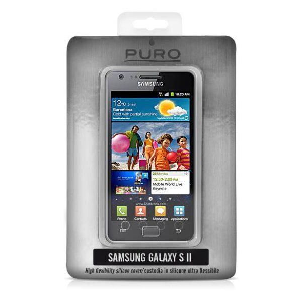 Samsung Galaxy S II Silicon Case transparant