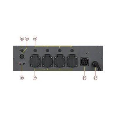 Showtec LP-416 Single 2 One Channel DMX Pack 2