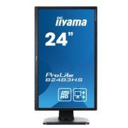 Iiyama ProLite B2483HS-B1 HDMI Full HD Zwart 5