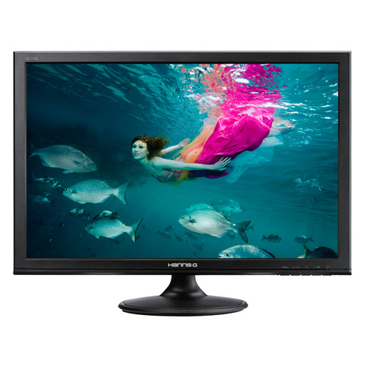 Hanns-G HL198DPB Black 19 inch 5ms LED Monitor