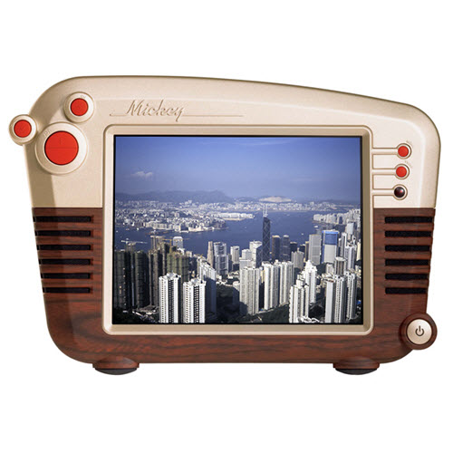 Hannspree Logo: Hannspree 10-inch Retro Mickey LCD Television Gebruikt