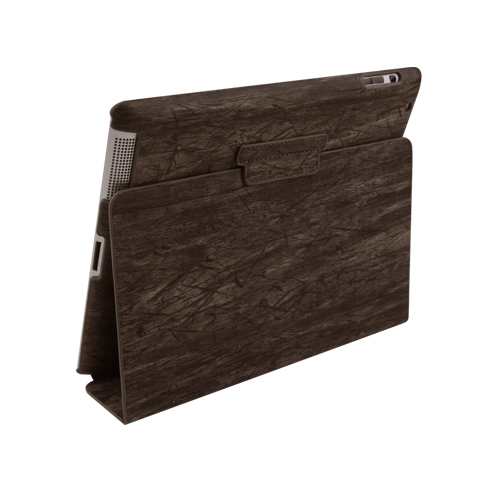 G-Cube GPD-2WB Premium Wood Grain Case for iPad 2 3