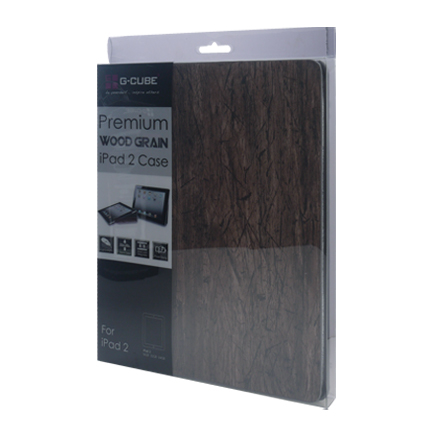 G-Cube GPD-2WB Premium Wood Grain Case for iPad 2 5