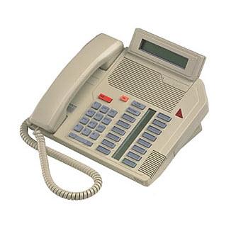 Nortel Meridian M5216 Digital Centrex Phone NT4x44 ash