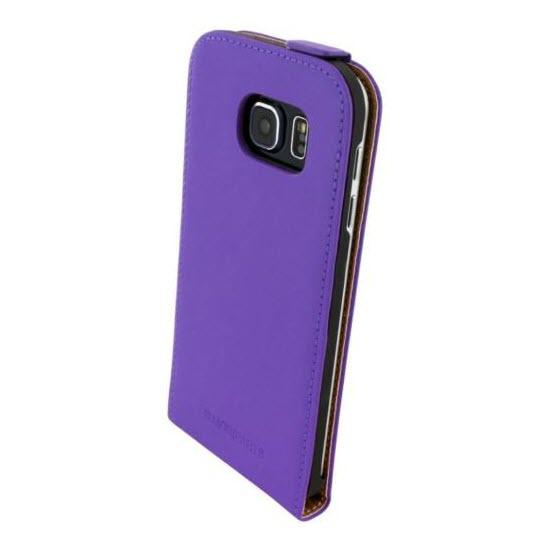 Mobiparts Premium Flipcase Samsung Galaxy S6 purple 2