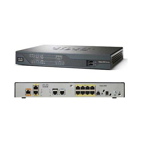 Cisco 892-K9 V2 Gigabit Ethernet Security Router