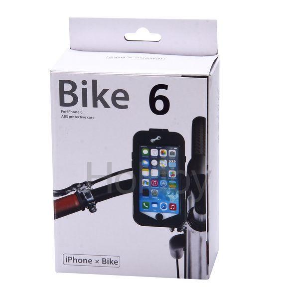 in stock 5a569 97f03 Waterproof iPhone 6 Plus Bike Mount Holder black