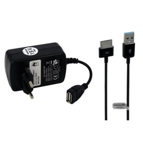Asus 15V oplader met 2 m USB voor Transformer Pad Infinity