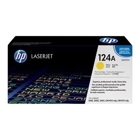 HP 124A Q6002A toner geel (origineel)