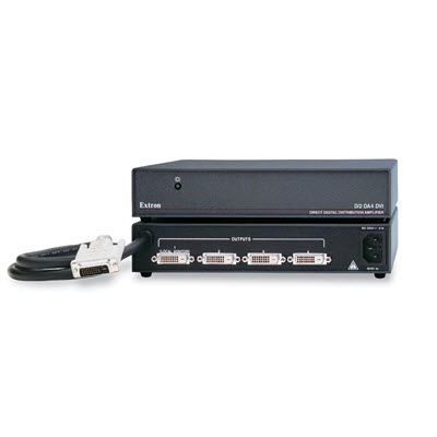 Extron D2 DA4 DVI 4 Output DVI Distribution Amplifier