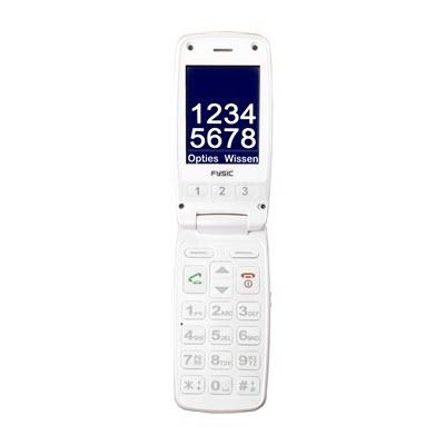 Fysic FM-9700 Senioren mobiele klaptelefoon Rood 2