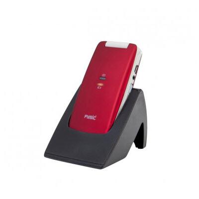 Fysic FM-9700 Senioren mobiele klaptelefoon Rood