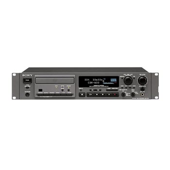 SONY CDR-W33 Professional Compact Disc CD Recorder