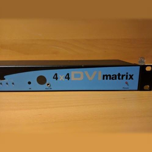 Gefen 4×4 DVI Matrix DVI Video Switch 2
