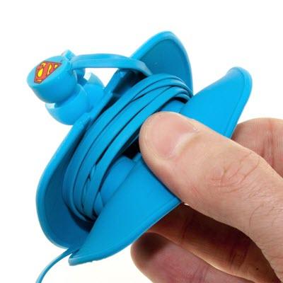 OTL Superman Ear Pods Hoofdtelefoon oortjes DC0309 blue 3