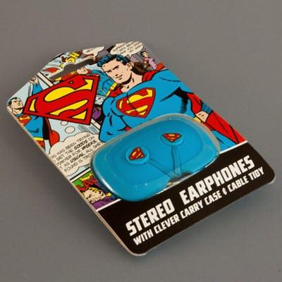 OTL Superman Ear Pods Hoofdtelefoon oortjes DC0309 blue 4