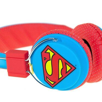 OTL Superman Man of Steel DC0292 Junior headphones 3