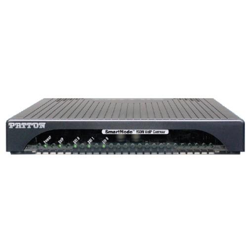 Patton SmartNode DTA VoIP Gateway 4 kanalen 2 BRI