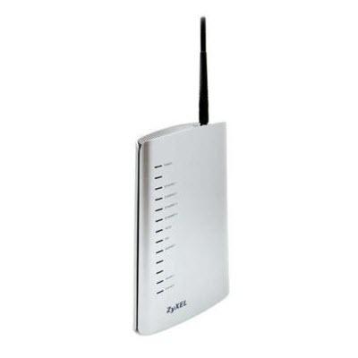 Zyxel P-2602HW-D3A wireless ADSL2+ VoIP modem router