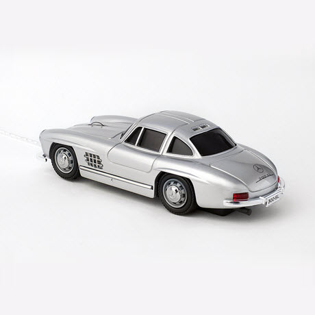 Click Car MERCEDES-BENZ 300 SL silver Wired Optical Mouse 2