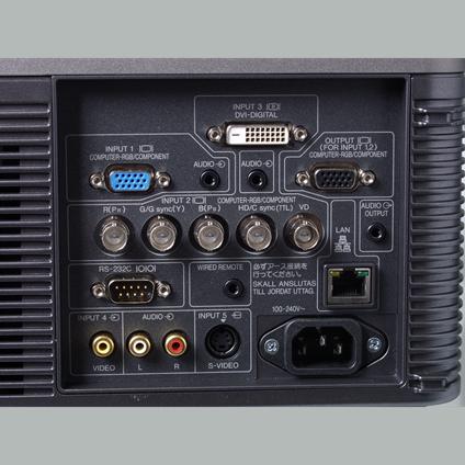 EIKI EIP-4500 Projector DLP 4500 ANSI lumens 2