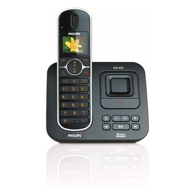 Philips CD655 CD6551B22 Single DECT telefoon met antwoordapparaat